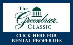 Greenbrier Rental Properties
