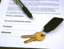 Rental Agreement with Keys