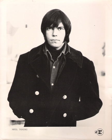 Neil Young 1960's Warner Reprise Press Photo