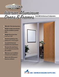 Doormerica Produces A Complete Line Of Interior Aluminum Door Frames And  Window Wall Configurations For Commercial Applications.