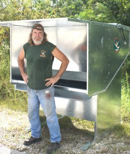"Da' Monster Buck Double ""D"" Gravity Deer Feeder"