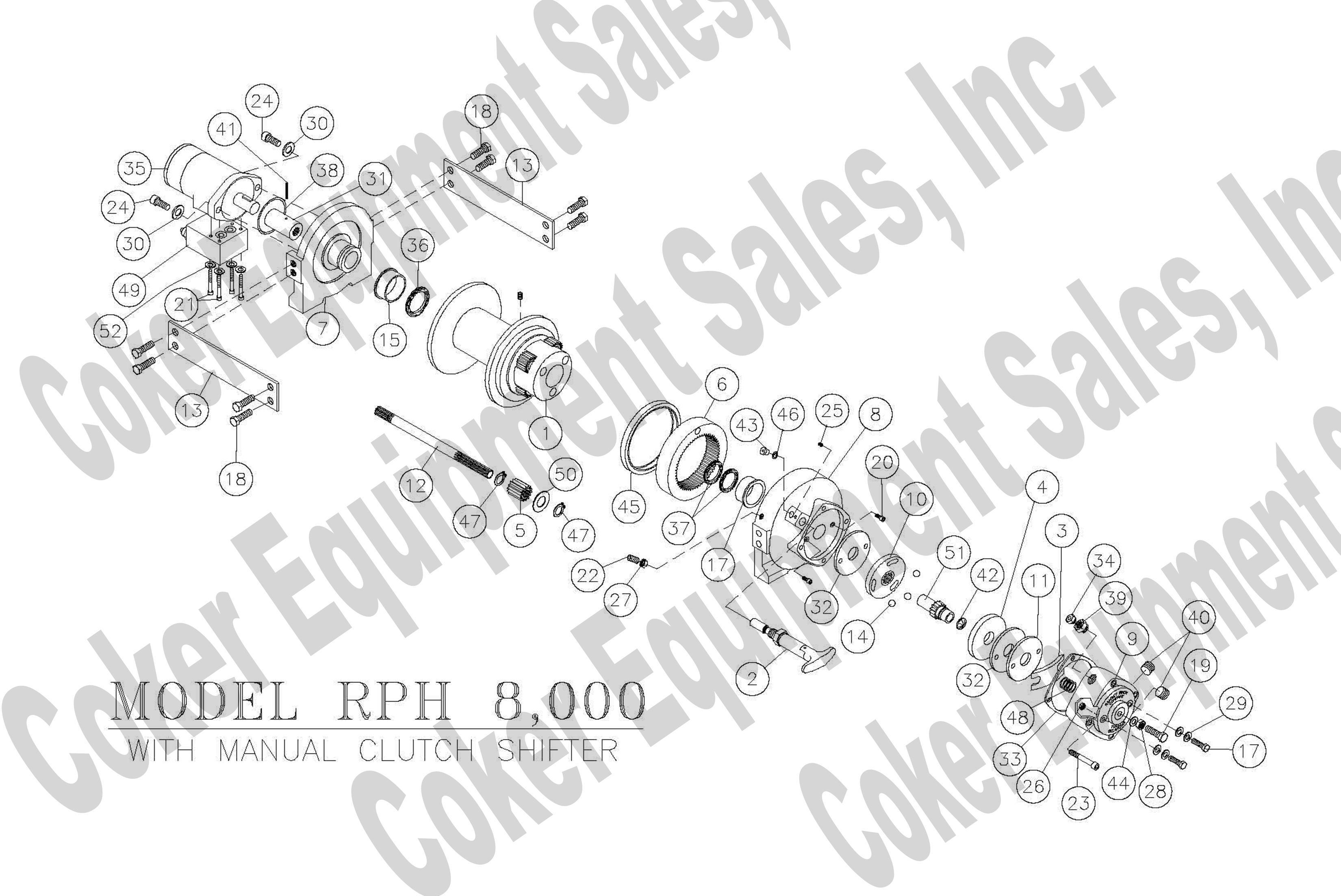 winch  u0026 winch parts