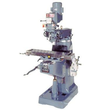 King Vertical Quot Turret Quot Milling Machine