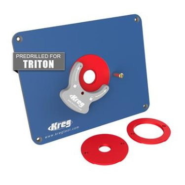 Kreg router table insert plate greentooth