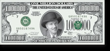 Custom Printed Front Million Dollar Bills