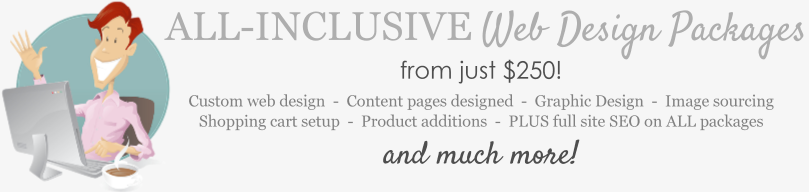All Inclusive Affordable Website Design Packages