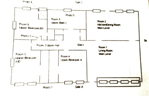 floor plan upstairs