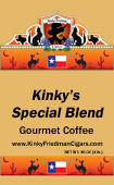 Link to Kinky Friedman's Special Blend Coffee