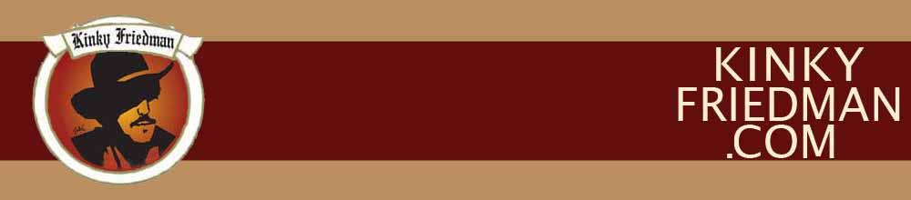 Kinky Friedman.com Banner