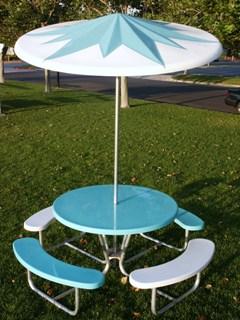 Fiberglass And Metal Outdoor Furniture