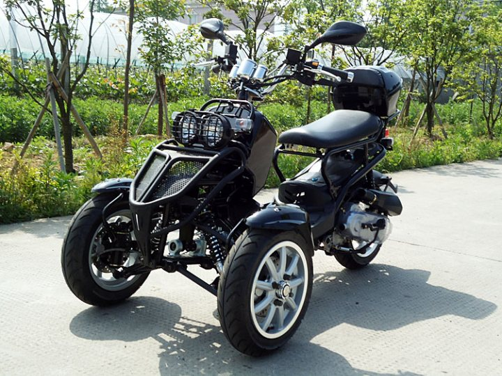 Dongfang 150cc 3 Wheel Reverse Trike Motor Scooter