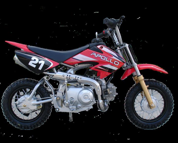 Apollo VX 70CC Stomper Semi- Automatic Dir / Pit Bike 10 ...