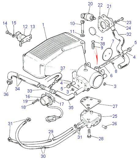 land rover parts - 3 9 e f i  v8