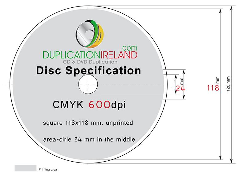 CD DVD Duplication Ireland Graphic Design