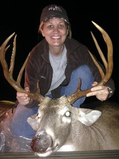 Trophy Buck harvested in Lake Village Ar.