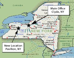 A.N. Martin New York Locations