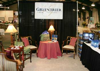 Greenbrier Real Estate Booth