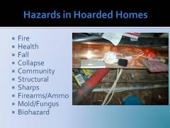 Hazards in Hoarding Homes