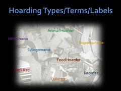 Types of Hoarding Behavior