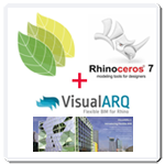 Rhino + VisualARQ + Lands Design