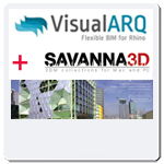 VisualARQ 2 + Savanna3D Commercial