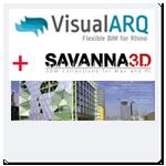 VisualARQ 2 + Savanna3D