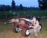 Wild Boar taken while Georgia Hunting