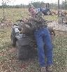 Whitetail deer hunting