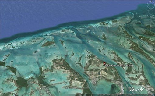 Lower Florida Keys fishing ground