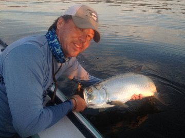 Fly fishing for baby tarpon in the Florida Keys