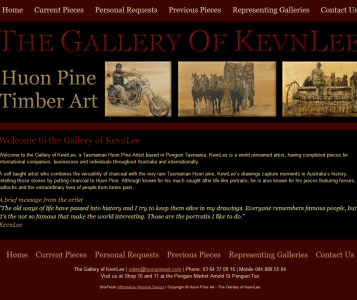Artist Website Design | Artists Portfolio Web Designs