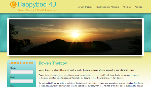 Yoga Website Design | Web Design for Yoga and Natural Therapies