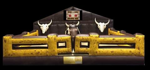 UPGRADE TO THE DELUXE WILD WILD WEST MECHANICAL BULL -