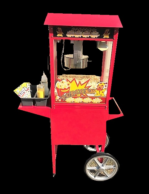 ADD A POPCORN CART FOR $30 EXTRA