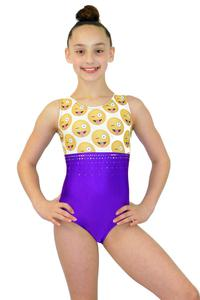 gymnastics practice wear leotard sparkly
