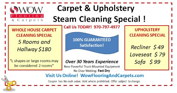 Coupons Wow Flooring And Carpets Fort Collins Co