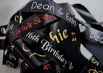 ribbon & bows - printed ribbon, personalised custom ribbon