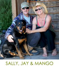 Sally, Jay & Mango
