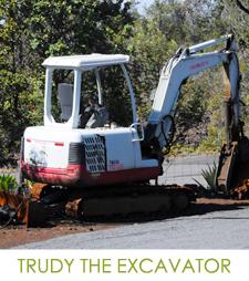 Trudy the Excavator