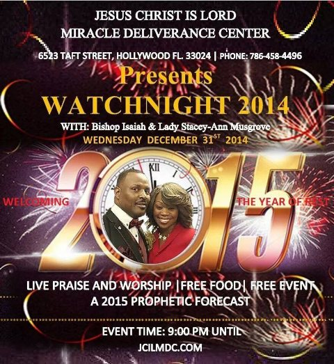 JOIN US FOR WATCH NIGHT 2014.