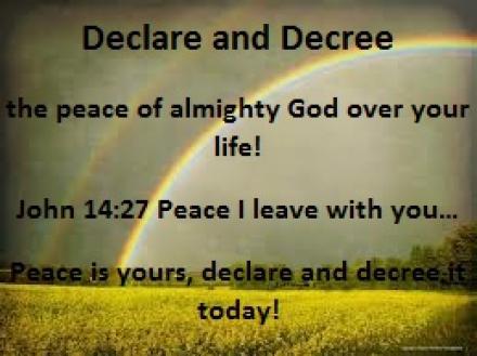 https://jesuschristislordmdc net - DECLARATION AND DECREE OF PEACE