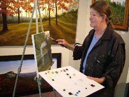 Velda Lovell, Oils Artist