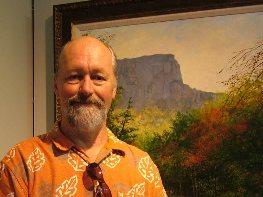 Jack Stern, Oil Painting