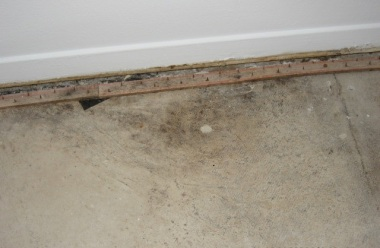 Concrete Water Damage