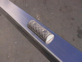 Hand Rail Skate Deterrents - HRFLAT