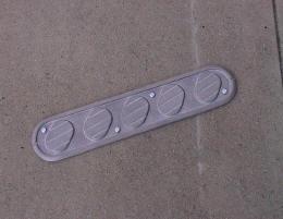 Flat Strap Skate Deterrents