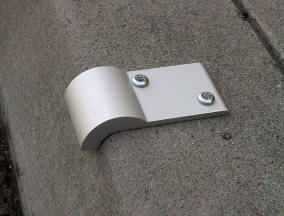Curve Clip Skate Deterrents - FA90CC