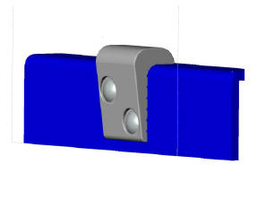 Bench Clip Skate Deterrents - FR0.25PC