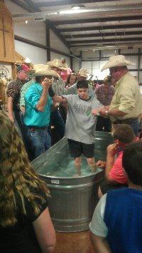 Baptisms at ORCCNT