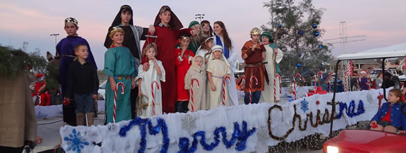 ORCCNT Youth Celebrate Christmas in Krum Parade